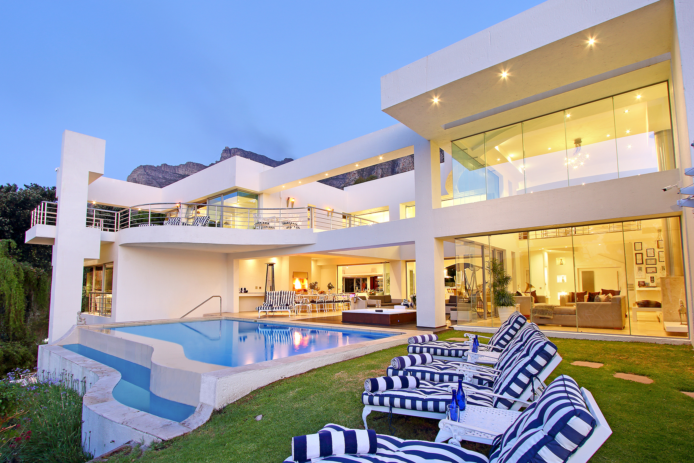 A Main Pool and Sun Beds view